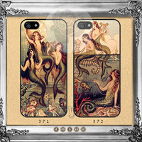 The little mermaid, iPhone 5s case iPhone 5C Case iPhone 5 case iPhone 4 Case iPhone Samsung Galaxy S4 case Galaxy S3 ifg-08