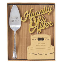 Mud Pie Wedding Collection Happily Ever After Cake Set | Dillards