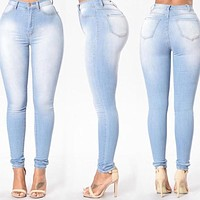 Casual Denim Jeans High Waist