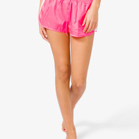 Perforated Workout Shorts