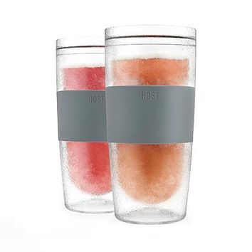 Set of 2 Tumbler FREEZE Cooling Cups by HOST