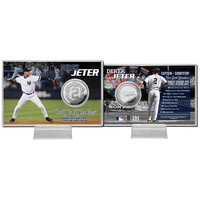 Derek Jeter inFinal Seasonin Silver Coin Card