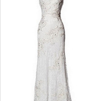 KCW1505 Lace High Neck Cap Sleeve Wedding Dress by Kari Chang Eternal