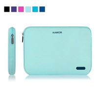 Kamor 13 13.3 14 inch Water-resistant Neoprene Laptop Sleeve Case Bag/Notebook Computer Case/Briefcase Carrying Bag/Skin Cover for Acer/Asus/Dell/Fujitsu/Lenovo/HP/Samsung/Sony/Toshiba(Dark Blue)