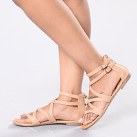 Warrior Sandal - Nude