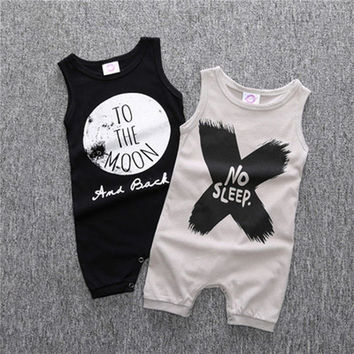 Baby Clothes Rompers For Boy Girl Clothing For Infant Children Sleepwear Jumpsuit Summer Pajamas Suits Baby Set Clothes