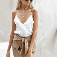 Silky Cami - Tops by Sabo Skirt