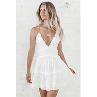 Wedding Crasher White Mini Dress