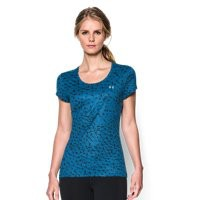 Under Armour Women's UA HeatGear Flyweight Printed T-Shirt
