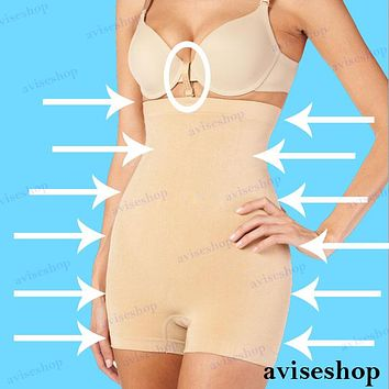 WOMEN'S Body SHAPEWEAR SLIMMING Seamless HIGH WAIST Girdle BOYSHORT SPANDEX
