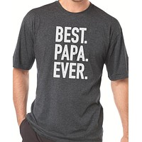 Best Papa Ever T Shirt Mens
