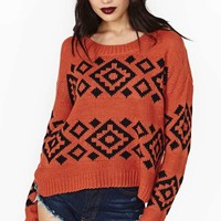 Smoke Signal Sweater