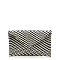 J.Crew Womens Convertible Stationery Clutch In Raffia