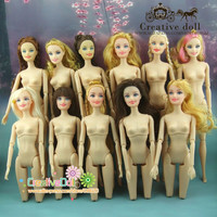 Doll body with head offer model choose toy accessories children baby girls gift doll accessories for barbie doll