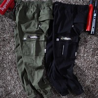 hcxx 19May 2250 AAPE Military Wind Camouflage Seals Multi-Bag Bottom Cloth Trousers