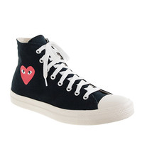 J.Crew Mens Unisex Play Comme Des Garcons For Converse High-Top Sneakers