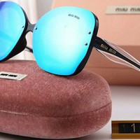 MIUMIU female tide brand color fashion sunglasses F-A-SDYJ