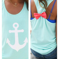 Anchor Tank - Mint