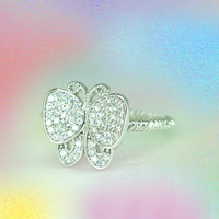 Noble and Lovely Ring / Pure image / 925 Sterling silver
