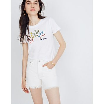 Pre-order Madewell x Human Rights Campaign Love to All Tee