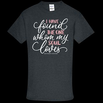 Southern Couture Soft Collection Found the One front print T-Shirt