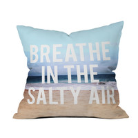Salty Air Throw Pillow Cover