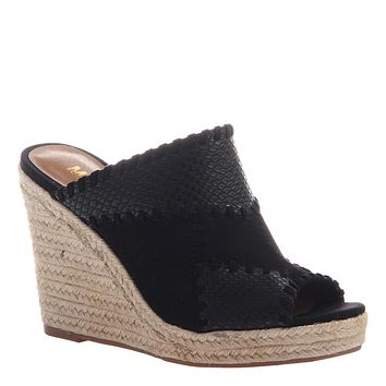 MADELINE GIRL - MIX in BLACK Wedge Sandals