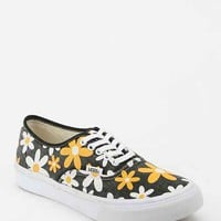Vans Authentic Daisy Women's Sneaker- Yellow 10