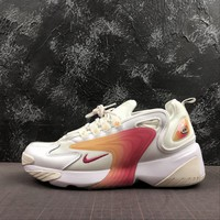 Nike Zoom 2K White Team Red-Light Orewood Brown - Best Deal Online