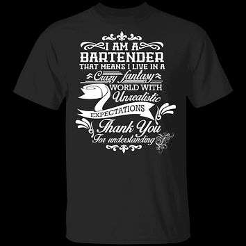 Gnarly Tees Bartender Pattern Casual Shoes