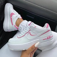 Nike Air Force 1 Shadow Women's Ultra-Light Low-Top Sneakers