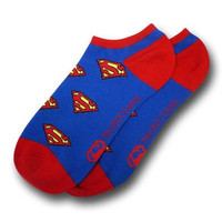 DC Comics Superman Logo Ankle Socks