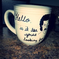 Coffee Mug  Hello is it tea you're looking by SarasCleverCrafts