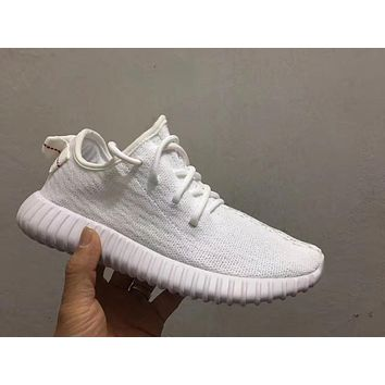 Adidas Yeezy Boost 350 White Color Men Women Running Sport Shoes