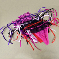 Ladies Sexy Thongs G-string V-string Panty Lingerie Underwear 5Colors Women  D_L = 1713081924