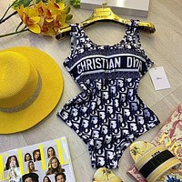 DIOR Oblique One-Piece Swimsuit