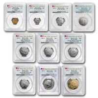 2017 U.S. Mint Enhanced Uncirculated Coin Set SP-70 PCGS (First Day)