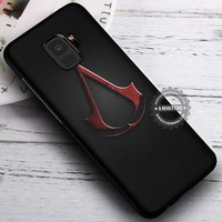 Assassin Creed Logo Game iPhone X 8 7 Plus 6s Cases Samsung Galaxy S9 S8 Plus S7 edge NOTE 8 Covers #SamsungS9 #iphoneX