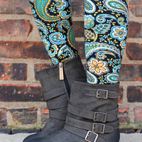 For The Roads Ahead Bootie - Black