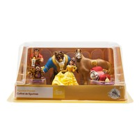 Disney Store Beauty and the Beast 6 pcs Playset Cake Topper New with box