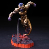 Anime Dragon Ball Z Frieza Golden Ver PVC Action Figure Collectible Model doll toy 15cm