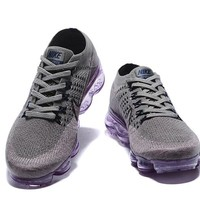 New 2018 Rainbow vapormax air shoes BE TRUE Men Woman Shock Running Shoes For Real Quality Fashion Men Casual Vapor Maxes Sports Sneakers