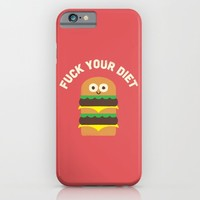 Discounting Calories iPhone & iPod Case by David Olenick