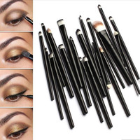 Professional 20 Pcs Cosmetic Makeup Brush Set