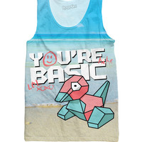 Porygon Tank Top *Ready to Ship*