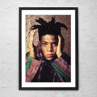 Basquiat, Painting - Wall art Poster - Fine Art Print for Interior Decoration
