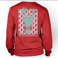 Bow Tie Deer Long Sleeve