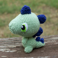 Customize Your Own Baby Dinosaur/Dragon (Crocheted Stuffed Toy)