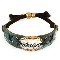 Blessed Engraved Bracelet