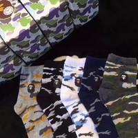 A Bathing Ape Camo Sock Box